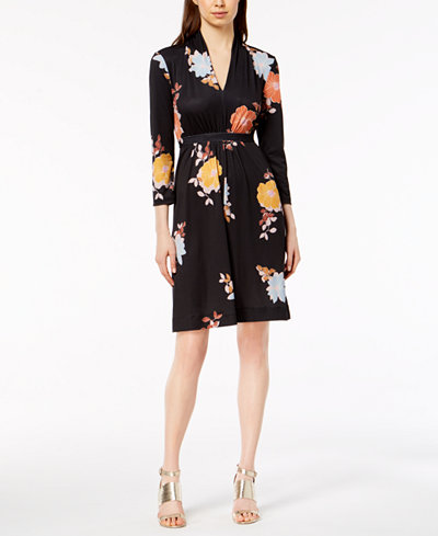 French Connection Shikoku Printed Jersey Dress