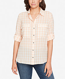 WILLIAM RAST Dalila Plaid Cotton Shirt