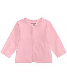 First Impressions Cotton Cardigan, Baby Girls or Baby Boys, Created for Macy's