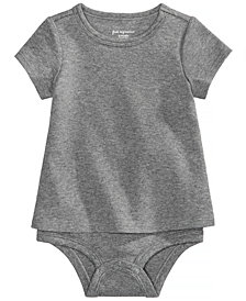 First Impressions Cotton T-Shirt Bodysuit, Baby Girls or Baby Boys, Created for Macy's