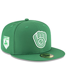 New Era Milwaukee Brewers St. Patty's Day Pro Light 59Fifty Fitted Cap