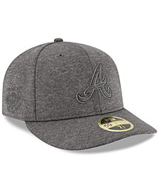 New Era Atlanta Braves Clubhouse Grey Low Profile 59FIFTY Fitted Cap
