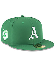 New Era Oakland Athletics St. Patty's Day Pro Light 59Fifty Fitted Cap