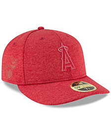 New Era Los Angeles Angels Clubhouse Low Crown 59Fifty Fitted Cap 9d76fc46143e