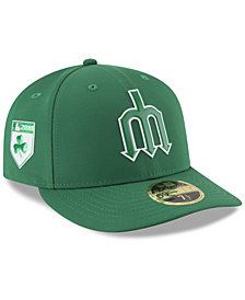 New Era Seattle Mariners St. Patty's Day Pro Light Low Crown 59Fifty Fitted Cap