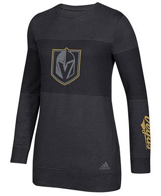 adidas Women's Vegas Golden Knights Inside Logo Outline Sweatshirt