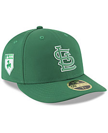 New Era St. Louis Cardinals St. Patty's Day Pro Light Low Crown 59Fifty Fitted Cap