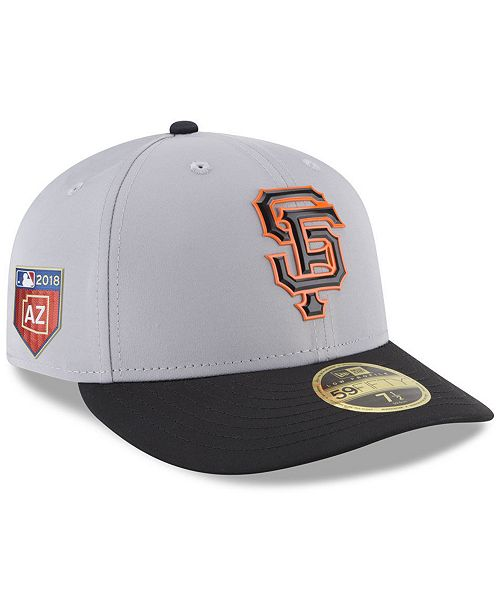 new arrivals aa5aa 6ab0e ... New Era San Francisco Giants Spring Training Pro Light Low Profile  59Fifty Fitted Cap ...