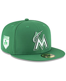 New Era Miami Marlins St. Patty's Day Pro Light 59Fifty Fitted Cap