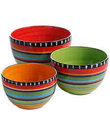 Gibson Pueblo Springs 3-Pc. Bowl Set