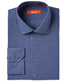 Tallia Men's Polka Dot Dress Shirt