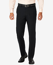 J.M. Haggar Slim Fit 4-Way Stretch Flat Front Dress Pants
