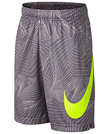 Nike Printed Dry Training Shorts, Big Boys