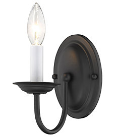 Livex Home Basics Wall Sconce