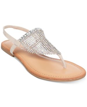 Madden Girl Sabell Embellished Slide Sandals 5929374