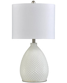 Stylecraft Glass Table Lamp