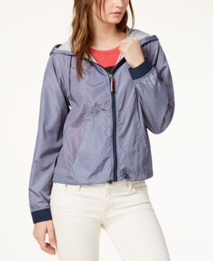 SPORT HOODED JACKET, CREATED FOR MACY'S