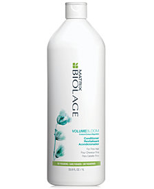 Matrix Biolage VolumeBloom Conditioner For Fine Hair, 33.8-oz., from PUREBEAUTY Salon & Spa