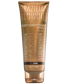 Brazilian Blowout Açai Deep Conditioning Masque, 8-oz., from PUREBEAUTY Salon & Spa