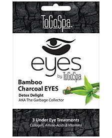 ToGoSpa Bamboo Charcoal Eyes Collagen Gel Mask, from PUREBEAUTY Salon & Spa