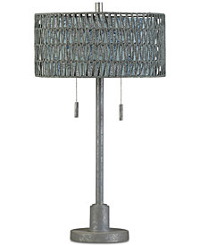 Stylecraft Galvinized Traditional Table Lamp