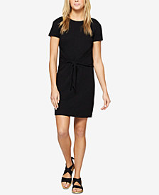 Sanctuary Juno Cotton Tie-Waist T-Shirt Dress