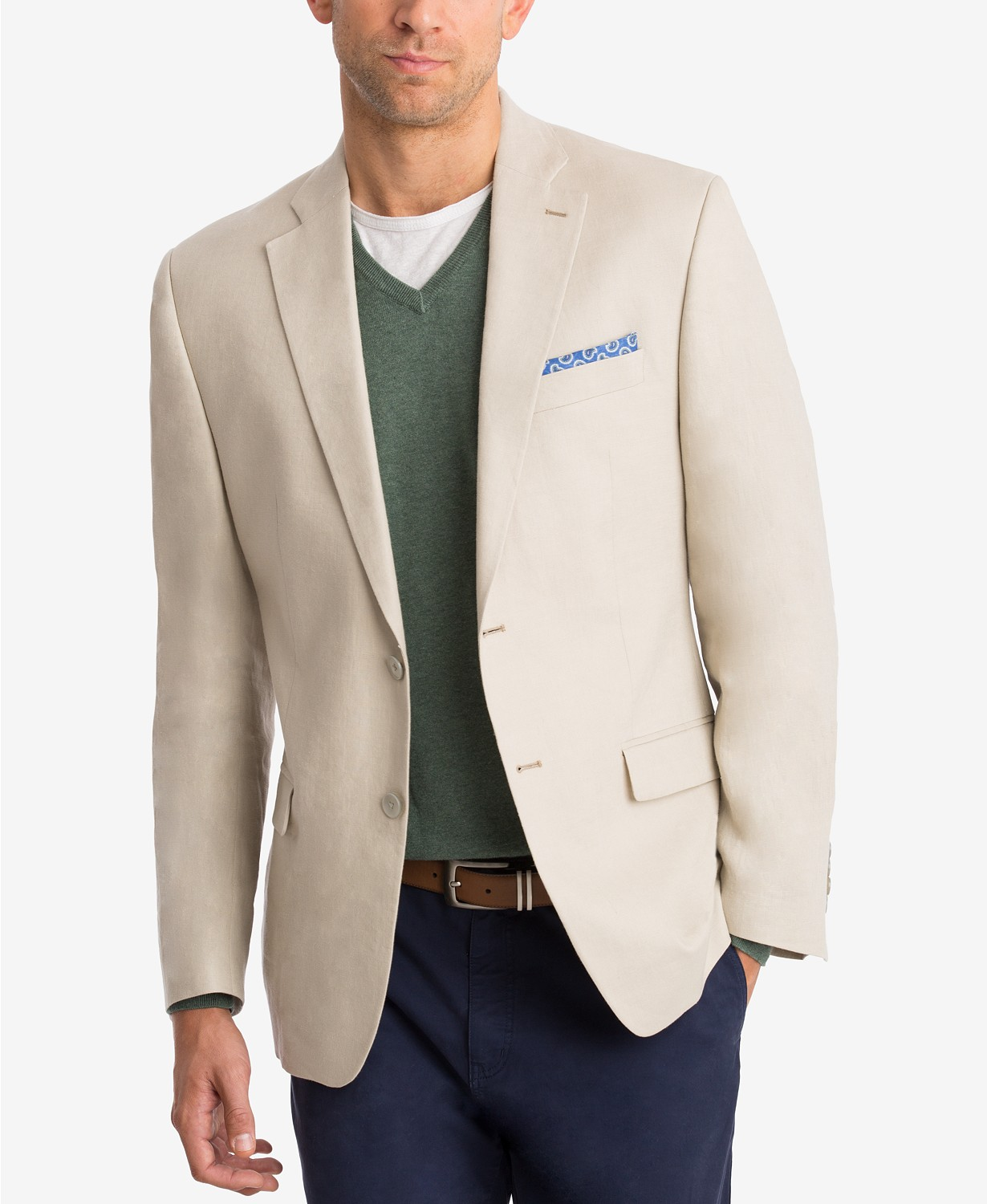 Lauren Ralph Lauren Men's Classic-Fit Solid Linen Sport Coat
