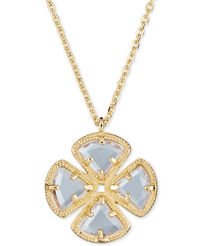 Green amethyst clover pendant necklace 3 58 ct tw in 18k gold green amethyst clover pendant necklace 3 58 ct tw in aloadofball Choice Image
