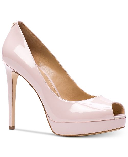 bacaca8e01d Michael Kors Erika Platform Pumps   Reviews - Pumps - Shoes - Macy s