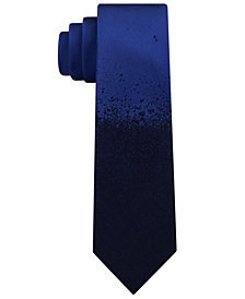 Calvin Klein Men's Dip Dye Skinny Silk Tie