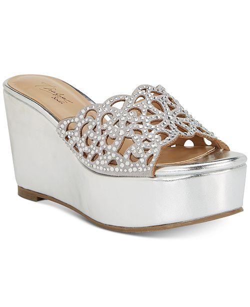 403fab5e13ca ... Thalia Sodi Jacklyn Slip-On Platform Wedge Sandals