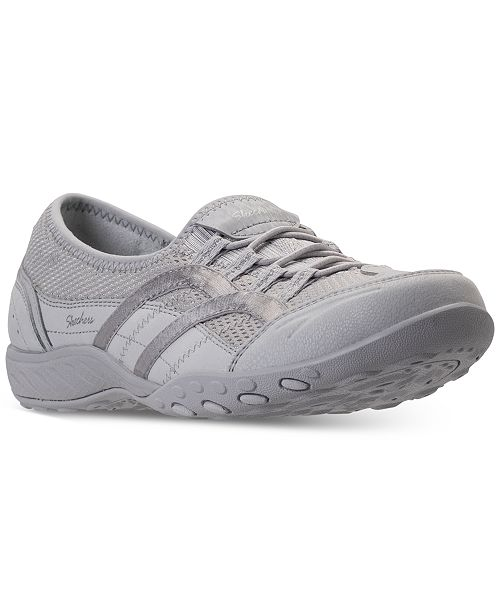 203383e795f7 ... Skechers Women s Relaxed Fit  Breathe Easy - Well Versed Walking Sneakers  from Finish ...