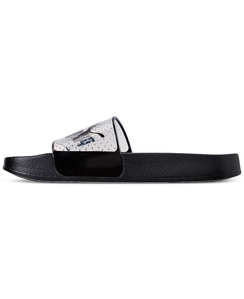 d4b5063fede2 Puma Women s Leadcat Jelly Slide Sandals from Finish Line   Reviews ...
