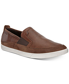 Ecco Men's Collin Micro Perforated Slip-On Sneakers