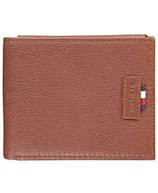 Tommy Hilfiger Men's Gus Leather Passcase