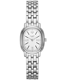 kate spade new york Women's Staten Stainless Steel Bracelet Watch 25x33mm