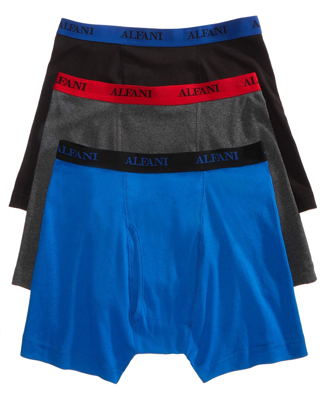 Alfani 3-Pack Men's Big & Tall Cotton Boxer Briefs