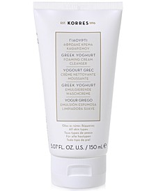 Greek Yoghurt Foaming Cream Cleanser, 5.07 fl oz.