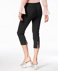 Thalia Sodi Split-Seam Capri Pants, Created for Macy's