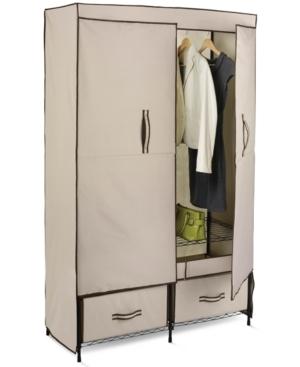 Honey Can Do Portable Wardrobe Storage Closet 43 Wide