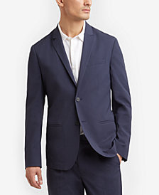 Kenneth Cole New York Men's Stripe Seersucker Blazer