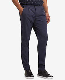 Kenneth Cole Men's Slim-Fit Seersucker Pants