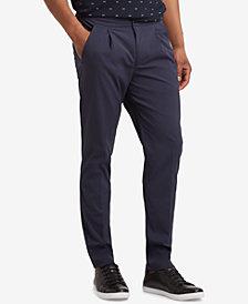 Kenneth Cole Men's Slim-Fit Seersucker Pants