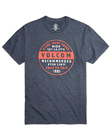 Volcom Men's Rebarred Graphic-Print T-Shirt, Created for Macy's