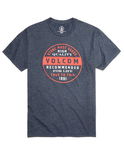 Volcom Men's Rebarred Graphic-Print T-Shirt, Created for Macy's