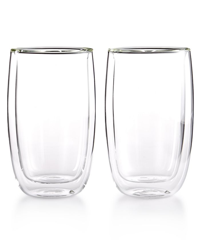 J.A. Henckels - Zwilling Sorrento Double Wall Latte Glasses, Set of 2