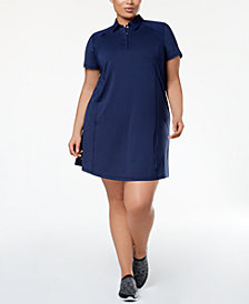 Ideology Plus Size Tennis Dress, Created for Macy's