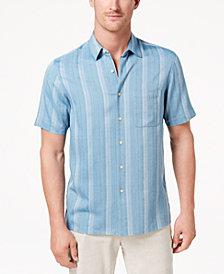 Tasso Elba Men's Casmara Dobby Shirt, Created for Macy's