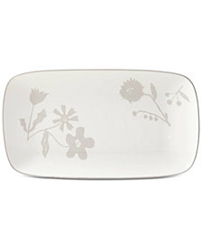 kate spade new york Spring Street Flax Hors d'Oeuvres Tray