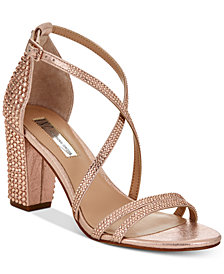 I.N.C. Women's Kamma Strappy Dress Sandals, Created for Macy's